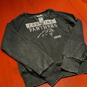 NFL Panthers sweat shirt